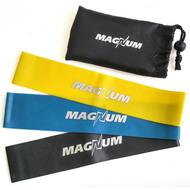 """MLB50-3 Комплект эспандеров """"Magnum"""" 3 штуки в сумке (50 х 5см х 0,4/0,8/1,2 мм), 10015685, Эспандеры Трубки Ленты Жгуты"""