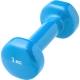 HKDB115-C2 Гантели виниловые 1 кг (голубая)