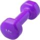 HKDB115-C2 Гантели виниловые 1,5 кг (фиолетовая)