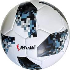 """C28673-2 Мяч футбольный """"Meik-MK-032-Telstar"""", 3-слоя  PVC 2.3, 340 гр, машинная сшивка"""