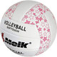 """R18039-1 Мяч волейбольный """"Meik-2898"""" (розовый) PU 2.5, 270 гр, машинная сшивка"""