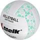 """R18039-3 Мяч волейбольный """"Meik-2898"""" (зеленый) PU 2.5, 270 гр, машинная сшивка"""