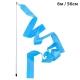 B25984-2 Лента гимнастическая 6м. с палочкой 56см. Цвет: Голубой