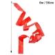 B25984-4 Лента гимнастическая 6м. с палочкой 56см. Цвет: Красный