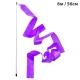 B25984-5 Лента гимнастическая 6м. с палочкой 56см. Цвет: Фиолетовый