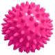 T07638 Мяч массажный твердый (розовый) Диа 7см.