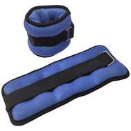 """HKAW103-1 Утяжелители """"ALT Sport"""" (2х0,75кг) (нейлон) в сумке (синие), 10016204, УТЯЖЕЛИТЕЛИ"""