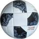 """D26078-3 Мяч футбольный """"Telstar"""" - черный, PU 3.0мм, 400 гр, термосшивка"""