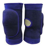 NK-401-XL Наколенники волейбольные с дыркой (Синий/Синий) р. XL, 10016362, Волейбольные аксессуары