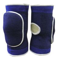 NK-402-L Наколенники волейбольные с дыркой (Синий/Белый) р. L, 10016365, Волейбольные аксессуары