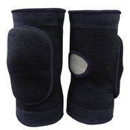 NK-403-XL Наколенники волейбольные с дыркой (Черный/Черный) р. XL, 10016370, Волейбольные аксессуары