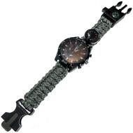 D26095-5 Часы туристические кварцевые 6в1 (серый камуфляж), 10016486, ШАГОМЕРЫ и СЕКУНДОМЕРЫ