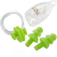 C33423-4 Комплект для плавания беруши и зажим для носа (желтые), 10016522, Аксессуары для плавания