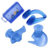 C33425-1 Комплект для плавания беруши и зажим для носа (синие), 10016523, 12.ПЛАВАНИЕ