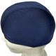 T07672-2 Шапочка для плавания лайкра/полиэстер (темно синяя)