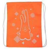 "SM-202 Мешок-рюкзак ""Rabbit"" оранжевый Neon, 10016584, 02.СУМКИ"