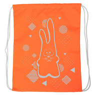 "SM-202 Мешок-рюкзак ""Rabbit"" (оранжевый Neon), 10016584, 02.СУМКИ"