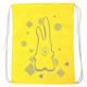 """SM-206 Мешок-рюкзак """"Rabbit"""" (желтый)"""