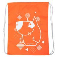 "SM-220 Мешок-рюкзак ""Dog"" оранжевый Neon, 10016590, 02.СУМКИ"