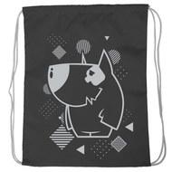 """SM-221 Мешок-рюкзак """"Dog"""" (черный), 10016591, 02.СУМКИ"""