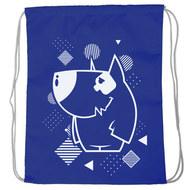"SM-222 Мешок-рюкзак ""Dog"" (темно-синий), 10016592, 02.СУМКИ"