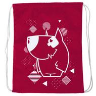 """SM-229 Мешок-рюкзак """"Dog"""" (красный), 10016599, 02.СУМКИ"""