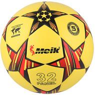 "R18028-5 Мяч футбольный ""Meik-098""  4-слоя  TPU+PVC 3.2,  400 гр, термосшивка, 10016638, ФУТБОЛ"
