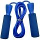 B23650-1 Скакалка с подшипником (цвет-Синий, ручки пластиковые, шнур ПВХ)