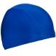 C33534 Шапочка для плавания взрослая текстиль (темно синяя)