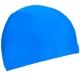 C33535 Шапочка для плавания взрослая текстиль (голубая)
