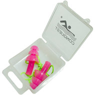 C33556-2 Беруши силиконовые на шнурке (розовые), 10016739, 12.ПЛАВАНИЕ