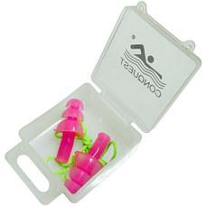 C33556-2 Беруши силиконовые на шнурке (розовые)