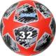 """R18028-B Мяч футбольный """"Meik-Лига Чемпионов""""  черный/красный"""