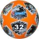 """R18028-C Мяч футбольный """"Meik-Лига Чемпионов""""  серный/оранжевый"""