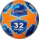 """R18028-D Мяч футбольный """"Meik-Лига Чемпионов""""  синий/оранжевый"""