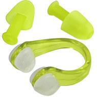 C33422-3 Комплект для плавания беруши и зажим для носа (салатовый), 10016811, Аксессуары для плавания