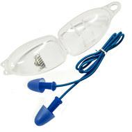 C33424-1 Беруши для плавания на шнурке (синие), 10016826, 12.ПЛАВАНИЕ