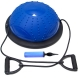 BOSU005-A Полусфера BOSU гимнастическая, 46см., (синяя) в комплекте с ручным насосом