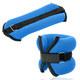 """HKAW101-3 Утяжелители """"ALT Sport"""" (2х0,75кг) (нейлон) в сумке (синие)"""