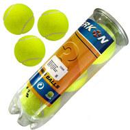 C33250 Мячи для большого тенниса 3 штуки (в тубе), 10017012, Большой теннис
