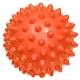 C33445 Мяч массажный (оранжевый) твердый ПВХ 6см.
