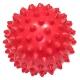 C33445 Мяч массажный (красный) супер твердый ПВХ 6см.