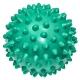 C33445 Мяч массажный (бирюзовый) супер твердый ПВХ 6см.