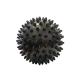 C33445 Мяч массажный (черный) супер твердый ПВХ 6см.