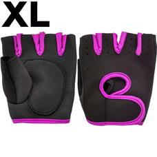 C33346 Перчатки для фитнеса р.XL (розовые)