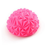 C33512-2 Полусфера массажная круглая надувная (розовая) (ПВХ) d-16,5см, 10017060, МЯЧИ ГИМНАСТИЧЕСКИЕ