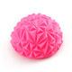 C33512-2 Полусфера массажная круглая надувная (розовая) (ПВХ) d-16,5см
