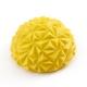 C33512-4 Полусфера массажная круглая надувная (желтая) (ПВХ) d-16,5см