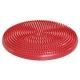 C28914-5 Полусфера массажная овальная надувная (красная) (ПВХ) d-33см
