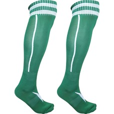 C33710 Гетры футбольные (зеленые) р.SR (взрослые) для экипировки спортивных команд